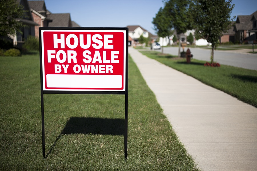 Selling house without real estate agent